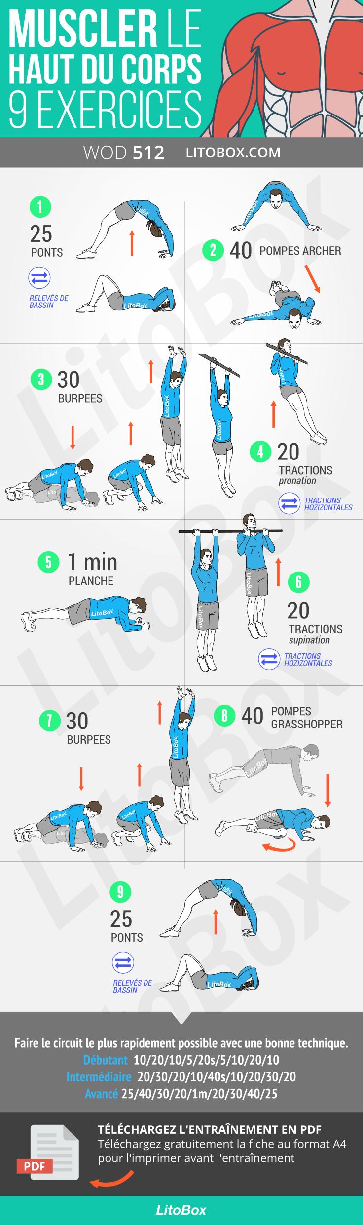 Comment se muscler sans trop d'effort?