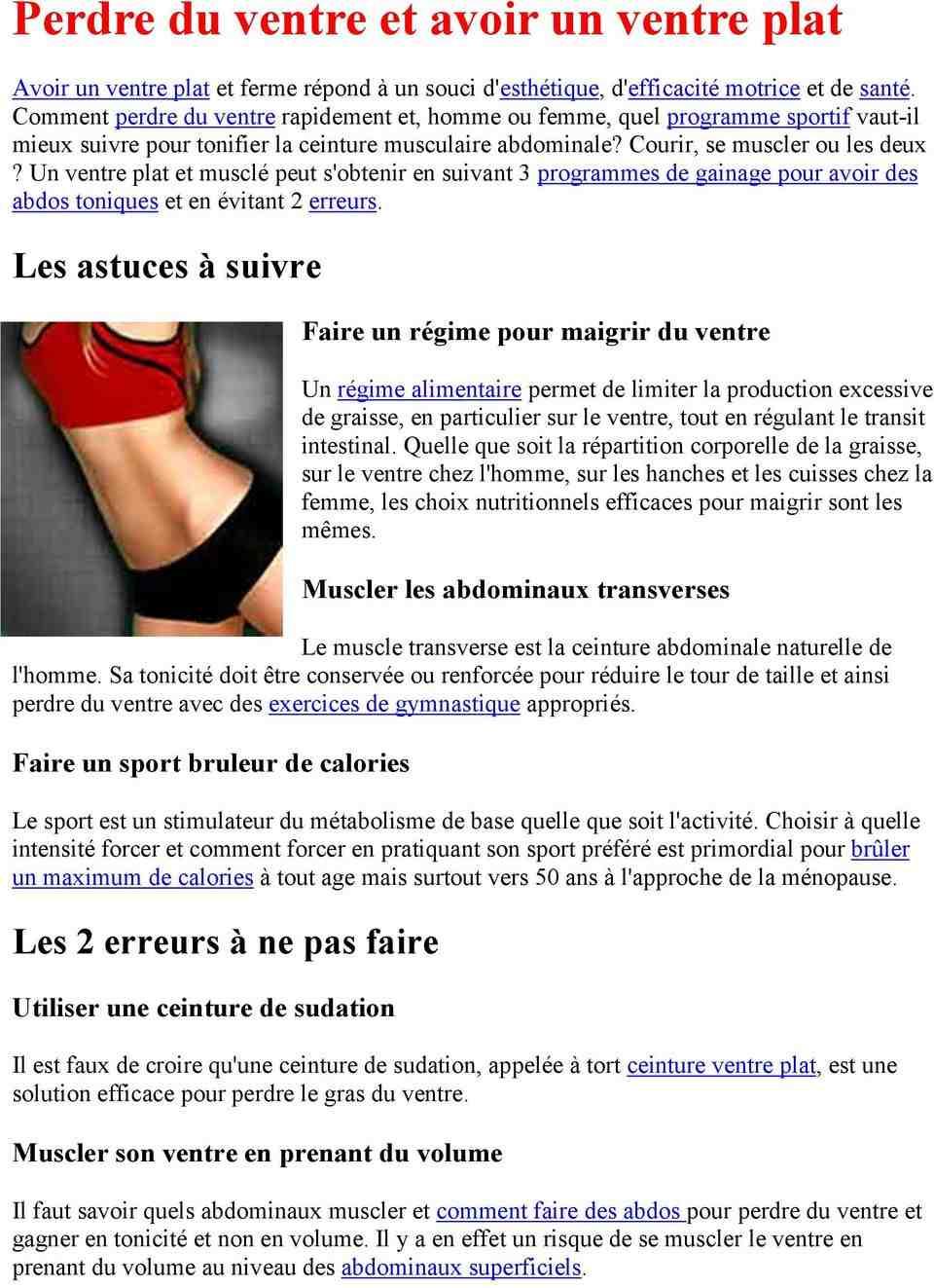 Comment perdre du poids à 50 pour une femme?