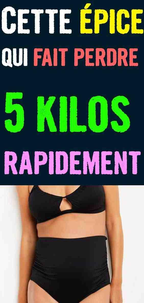 Est-il possible de perdre 5 kilos en 1 mois?