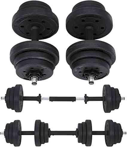 Comment choisir le bon poids d'haltère?