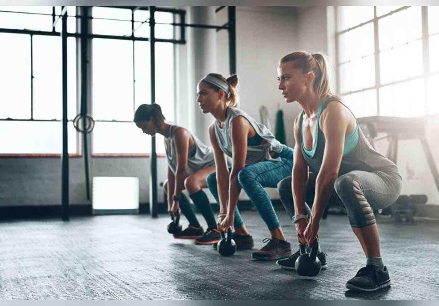 Comment s'entraîner avec des poids?