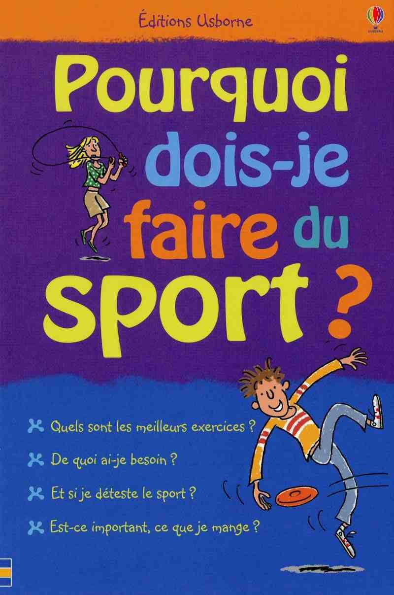 Pourquoi est-il important de faire du sport?