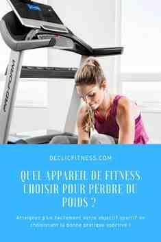 QUEL appareil de sport maison pour perdre du poids?