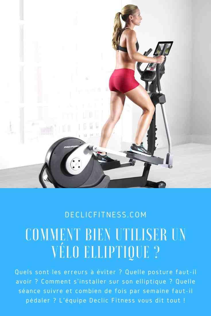Quand devriez-vous conduire un vélo elliptique?