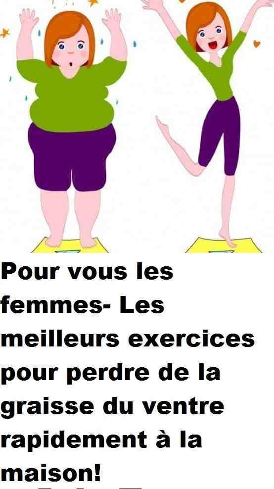 Quels sont les meilleurs exercice pour perdre du ventre ?