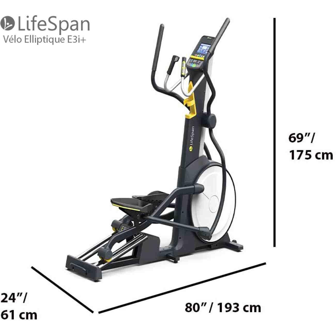 Qu'est-ce qui frappe pour un vélo elliptique?